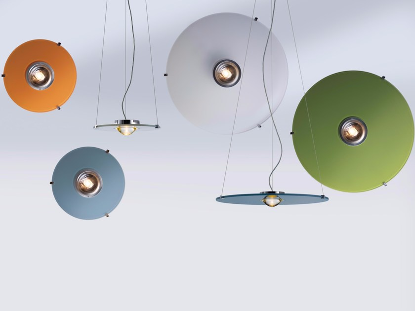 Lampada a sospensione a LED in alluminio SOLO - LICHT IM RAUM