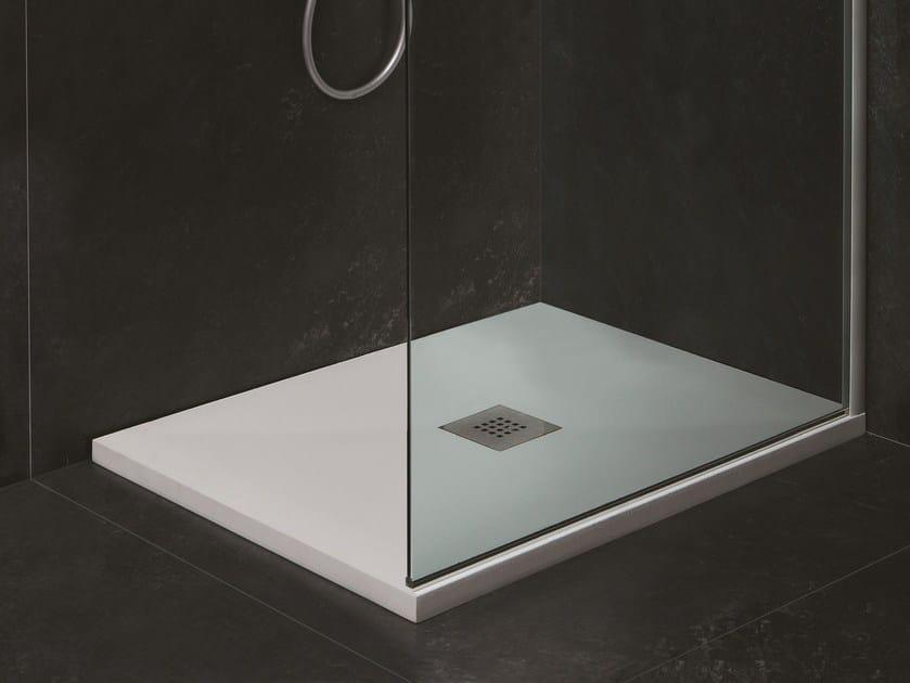 Custom Mineralmarmo® shower tray SOLUTION H3 by AZZURRA sanitari