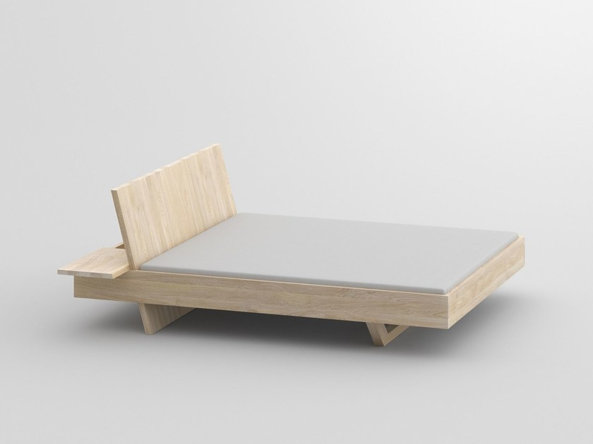Solid wood double bed SOMNIA - vitamin design