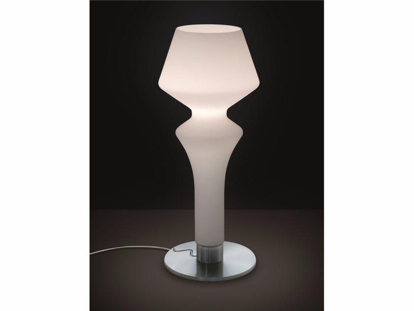 Satin glass table lamp SORRENTO | Table lamp - IDL EXPORT