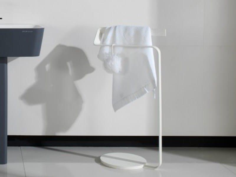 Porta asciugamani a barra da terra SP CONCEPT | Porta asciugamani a barra - Systempool