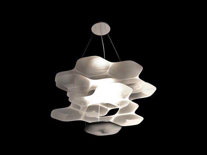 LED pendant lamp SPACE CLOUD by Artemide