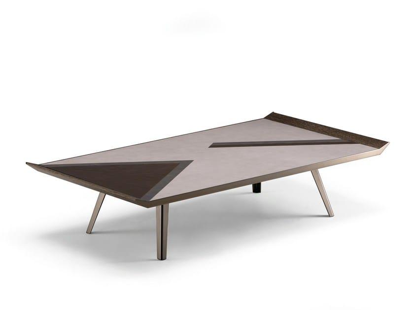 Tavolino rettangolare da salotto SPACE INVADERS | Tavolino rettangolare - Arketipo
