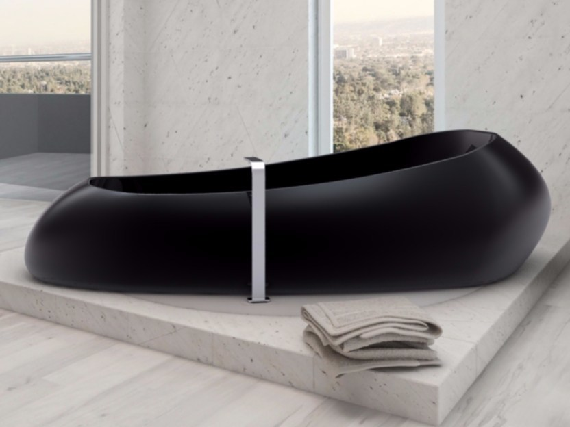 Freestanding Adamantx® bathtub SPACE SHIP - ZAD ITALY