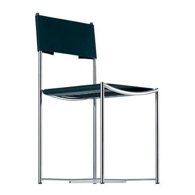 Sedia in acciaio e pvc spaghetti chair 101 by alias for Sedie pvc design