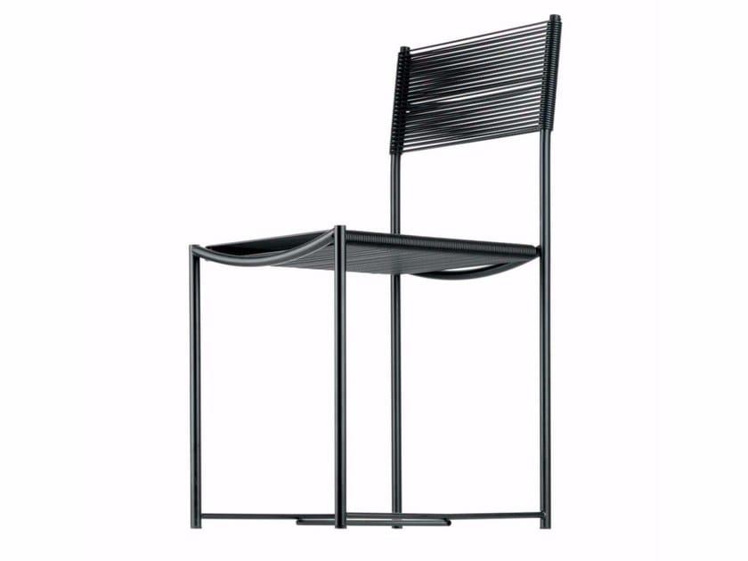 Steel and PVC chair SPAGHETTI CHAIR - 101 - Alias