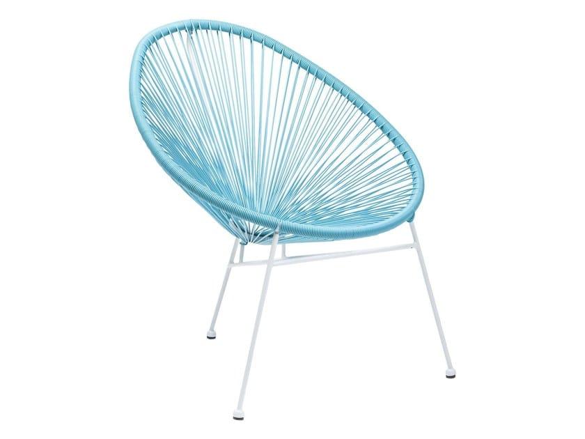 Polyethylene garden chair SPAGHETTI | Chair - KARE-DESIGN