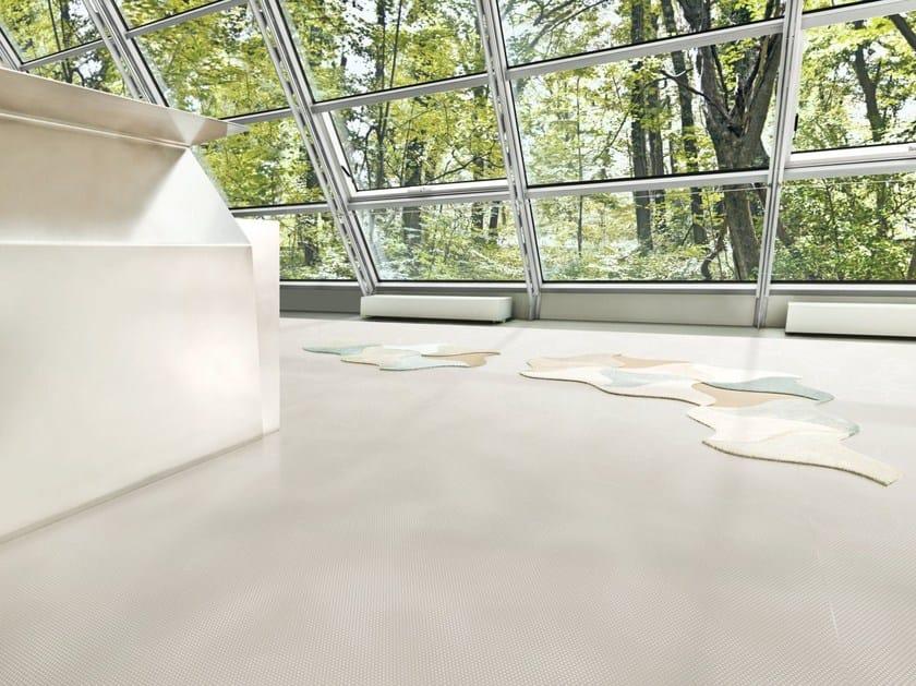 Ecological continuous flooring SPARKLING GREY - Vorwerk & Co. Teppichwerke