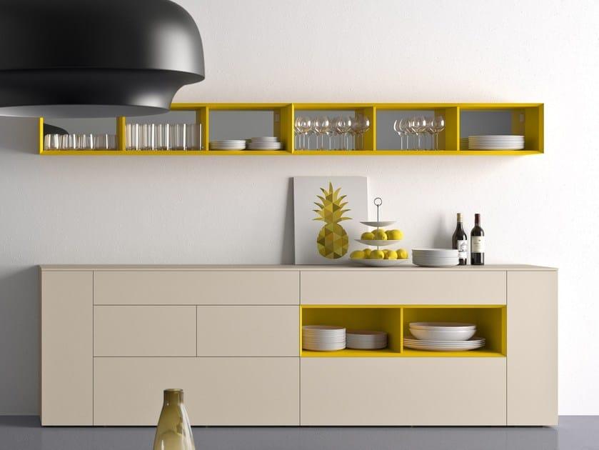 Modular lacquered sideboard SPAZIO | MOD. S306 - PIANCA
