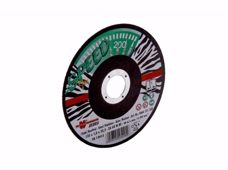 Cutting disc SPEED PLUS GREEN ZEBRA - Würth