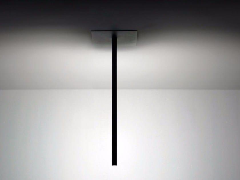 LED adjustable metal ceiling lamp SPILLO | Ceiling lamp by DAVIDE GROPPI