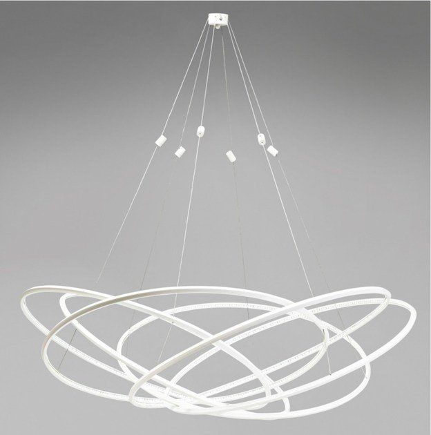 Led Aluminium Pendant Lamp Spiry Led By Kare Design