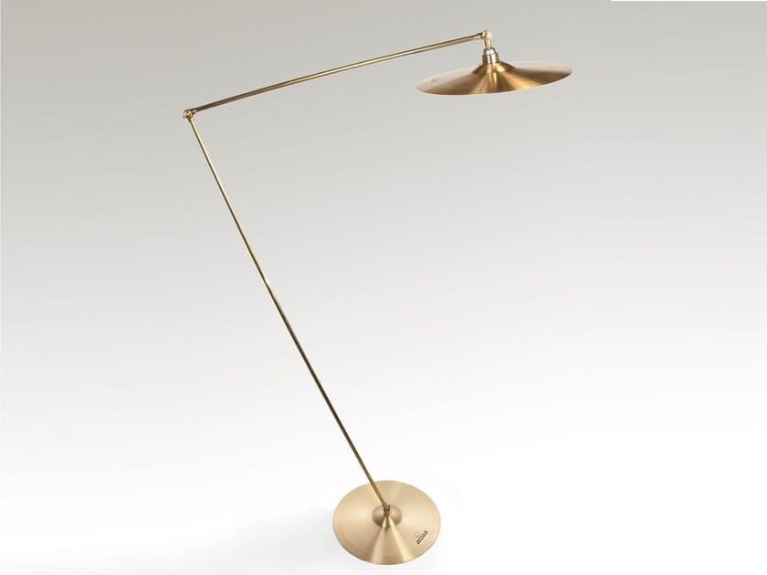 Handmade brass floor lamp SPLASH | Floor lamp - ICI ET LÀ