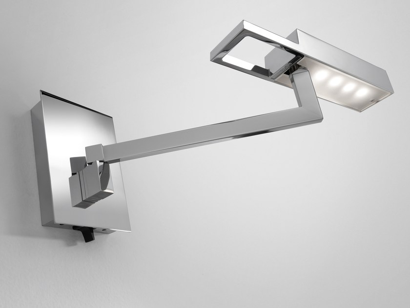 LED metal wall lamp with swing arm SPOCK - BOVER Il. Luminació & Mobiliario