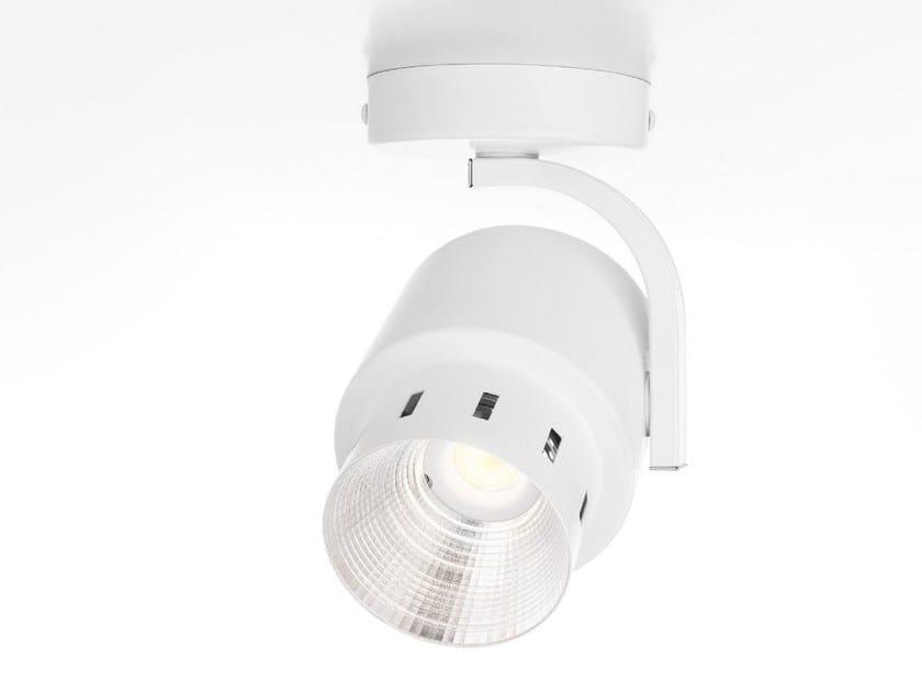 LED adjustable ceiling spotlight SPOT LIGHT 230V - Olev by CLM Illuminazione