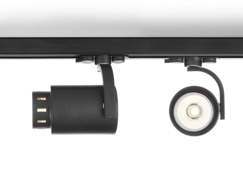 LED adjustable track-light SPOT LIGHT PRO - Olev by CLM Illuminazione