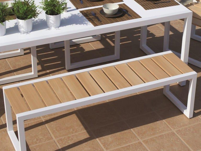 Iroko SPRING | Iroko garden bench - Efasma