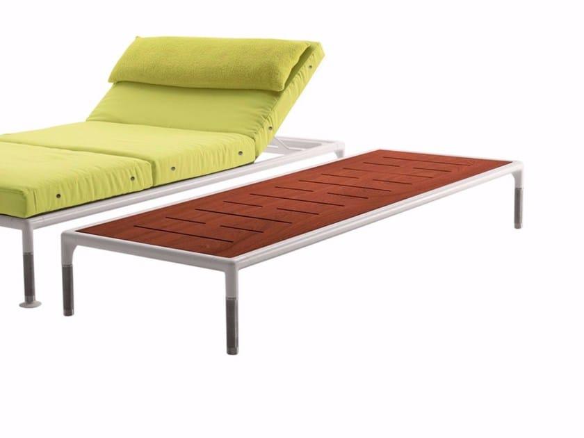 Mahogany garden side table SPRINGTIME | Garden side table - B&B Italia Outdoor, a brand of B&B Italia Spa
