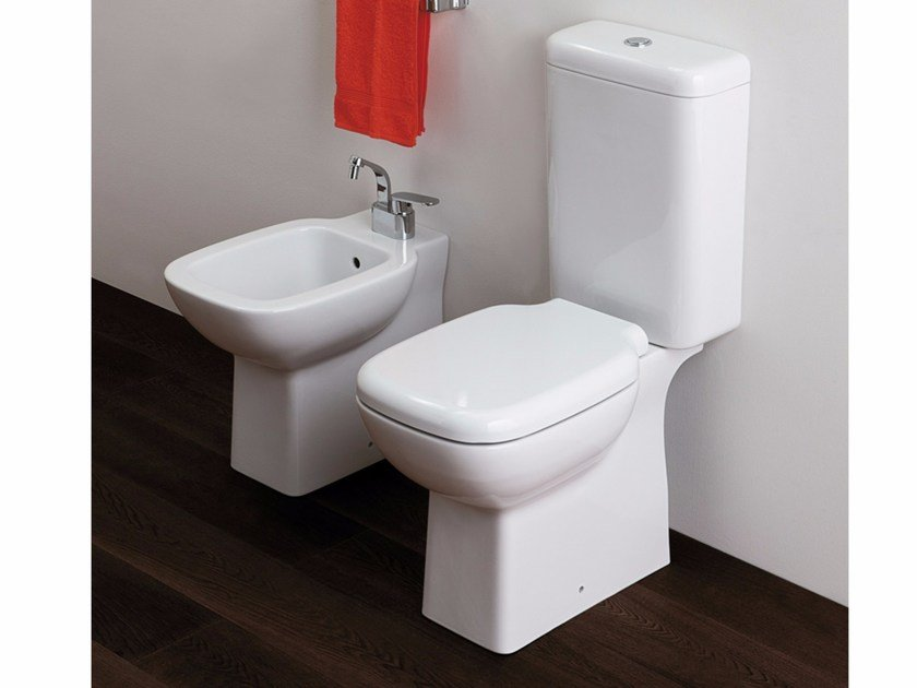 Close coupled ceramic toilet SPRINT | Close coupled toilet - CERAMICA FLAMINIA
