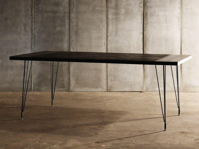 Teak table SPUTNIK by Heerenhuis