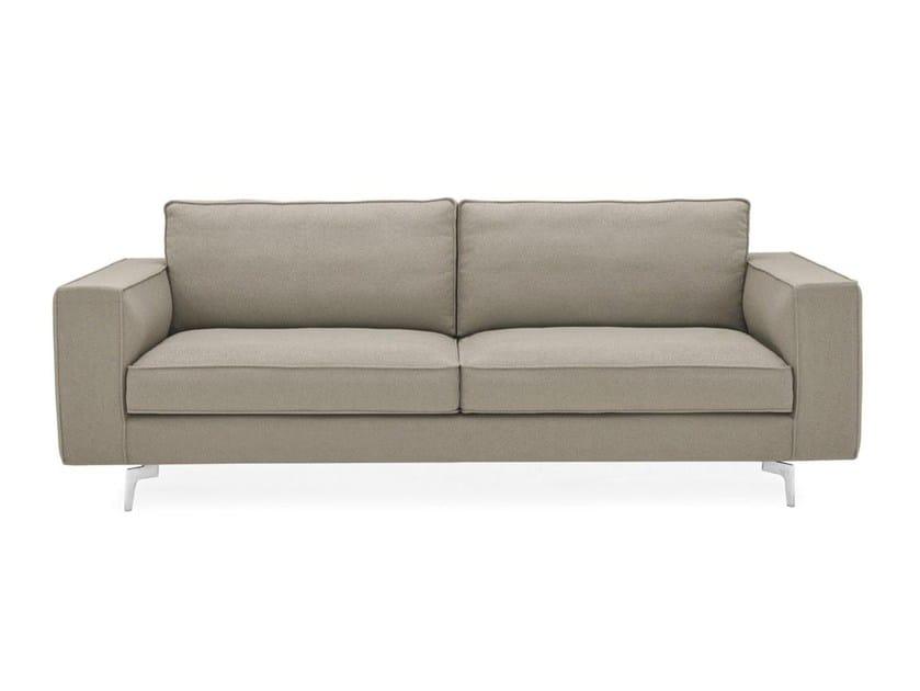 Sectional fabric sofa SQUARE - Calligaris