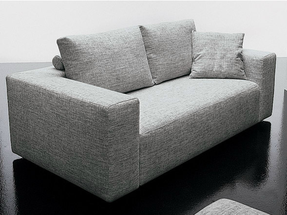 2 seater fabric sofa SQUARE | 2 seater sofa - D.M.