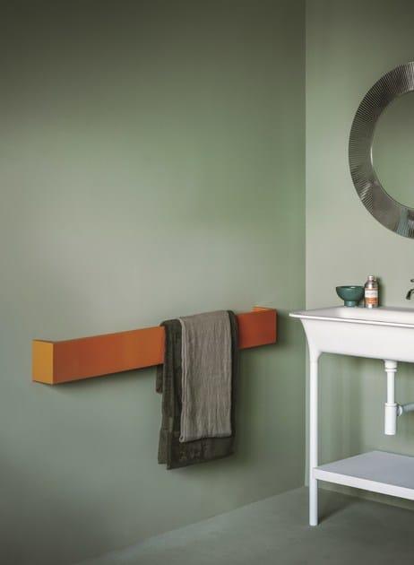 Termoarredo orizzontale in alluminio square termoarredo - Termoarredo orizzontale bagno ...