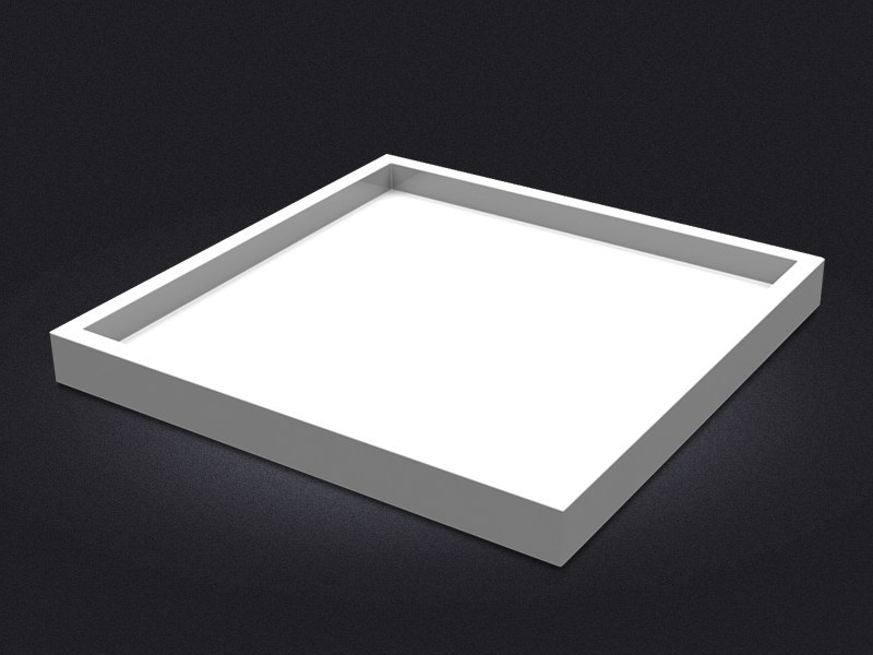 Square resin tray SQUARE LARGE | Tray - Vallvé Bathroom Boutique