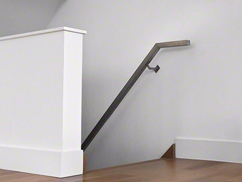Stainless steel handrail SQUARE LINE 40X40 | Handrail by Q-RAILING ITALIA