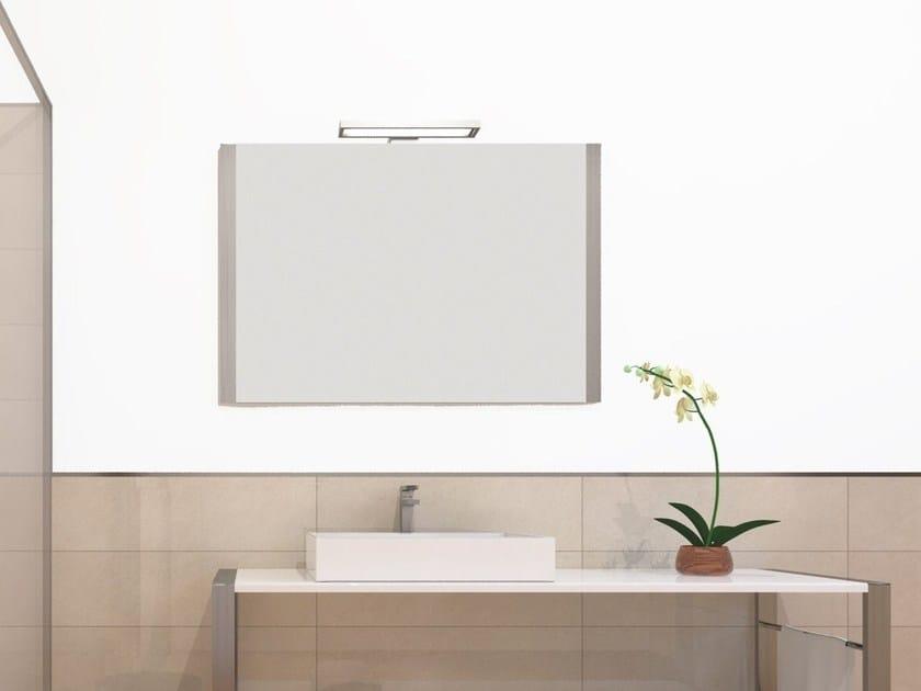 Wall-mounted bathroom mirror SQUARE | Mirror - Technova