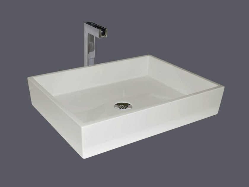 Pietraluce® washbasin SQUARE SHORT | Washbasin by Technova