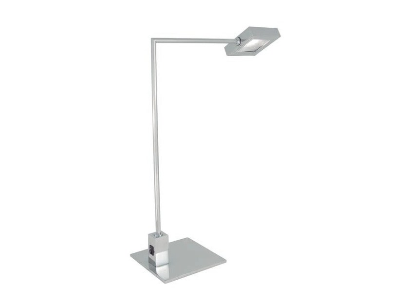 LED adjustable metal table lamp SQUARE | Table lamp - Aromas del Campo