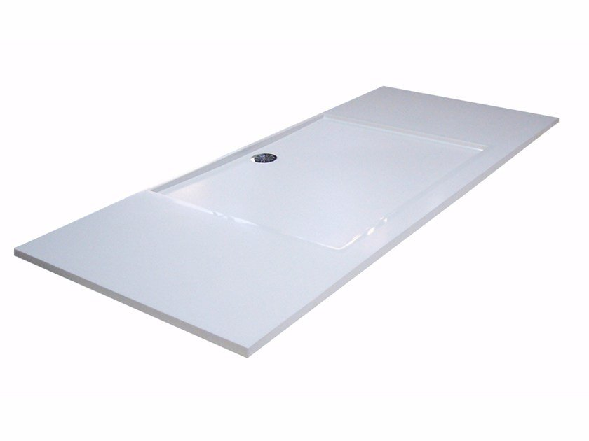 Custom Pietraluce® shower tray SQUARE SHORT | Shower tray - Technova