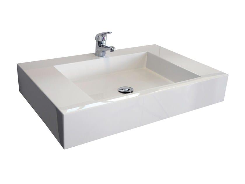 Single Pietraluce® washbasin SQUARE | Washbasin - Technova