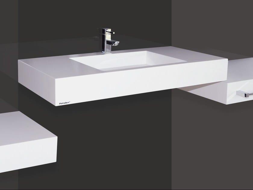 Custom Pietraluce® washbasin SQUARE | Custom washbasin by Technova