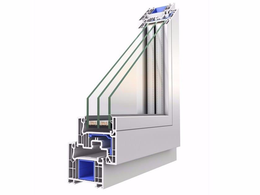 Finestra in pvc squareline oknoplast for Dimensioni finestre velux nuova costruzione