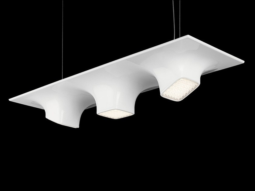 LED PMMA pendant lamp SQUEEZE 3 - Nimbus Group