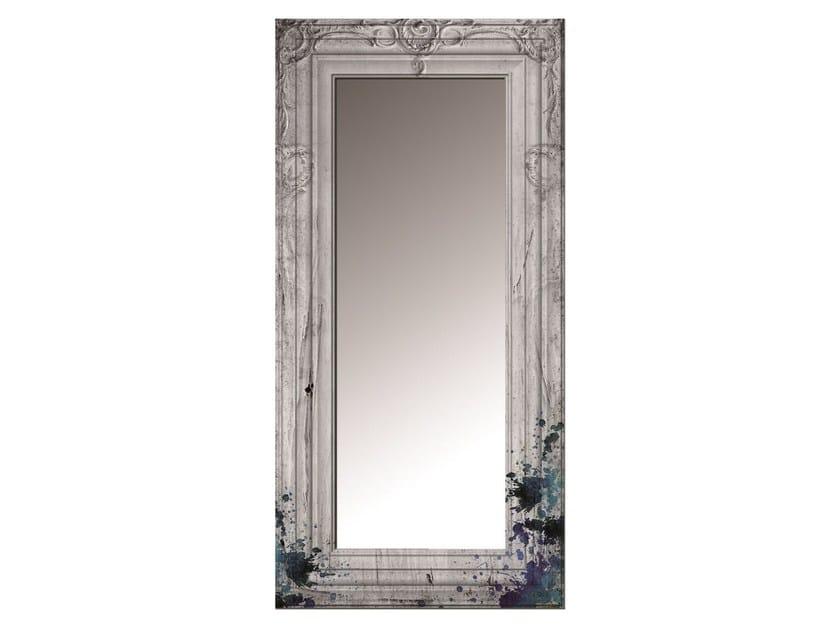 Rectangular framed glass-fibre mirror SS-01F - MOMENTI di Bagnai Matteo