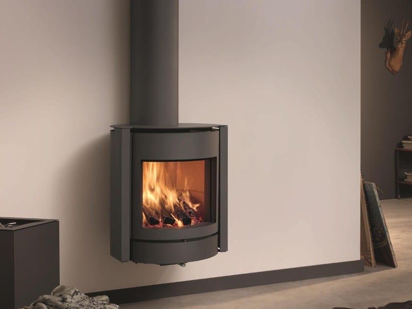 Wood-burning swivel stainless steel stove STÛV 30-UP - Stûv