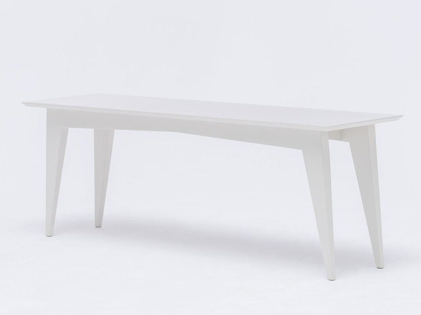 Panca laccata in legno massello ST BENCH COLOUR - ST FURNITURE
