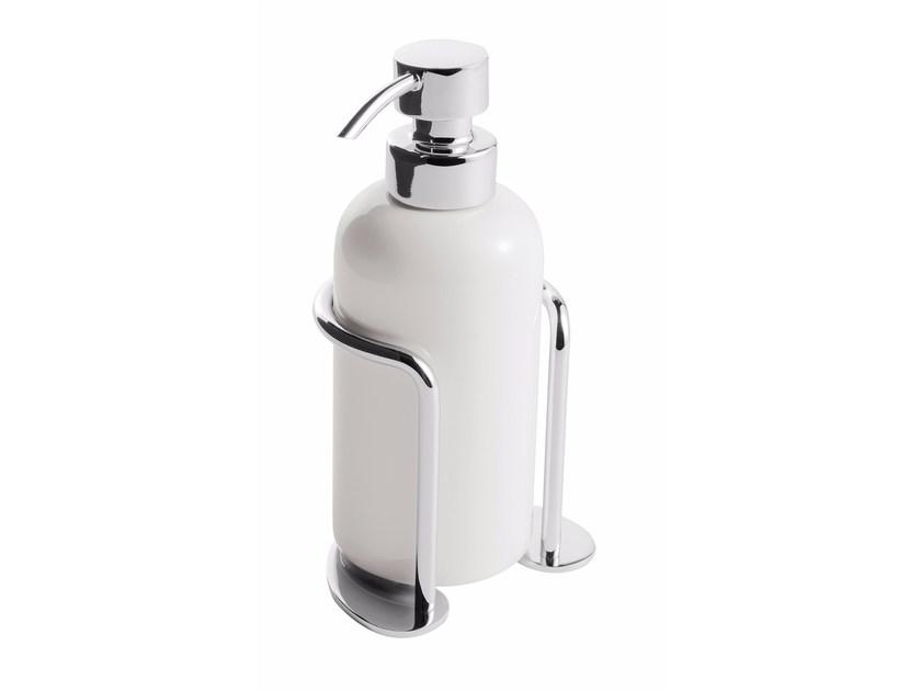 Ceramic liquid soap dispenser ST. JAMES | Liquid soap dispenser by GENTRY HOME