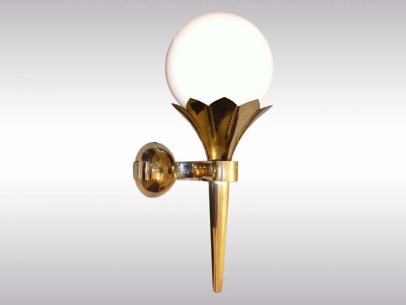 Opal glass wall lamp STA1 | Wall lamp - Woka Lamps Vienna