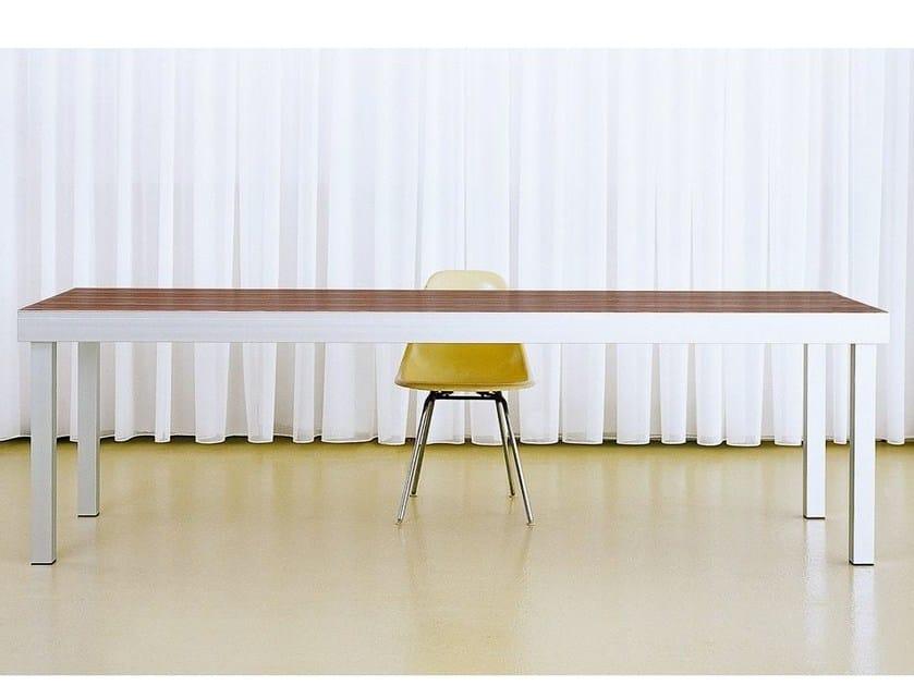 Rectangular workstation desk STAGE - MORGEN Interiors