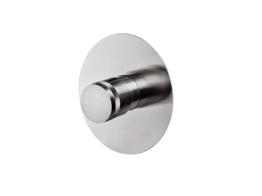 1 hole thermostatic shower tap STAINLESS | Thermostatic shower tap - rvb