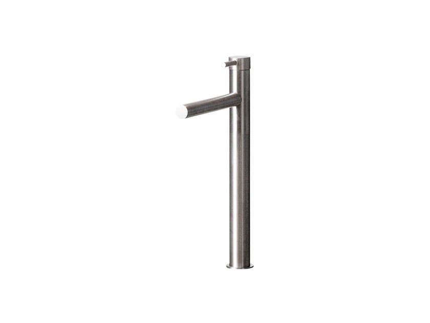 Countertop single handle 1 hole washbasin mixer STAINLESS | Single handle washbasin mixer - rvb