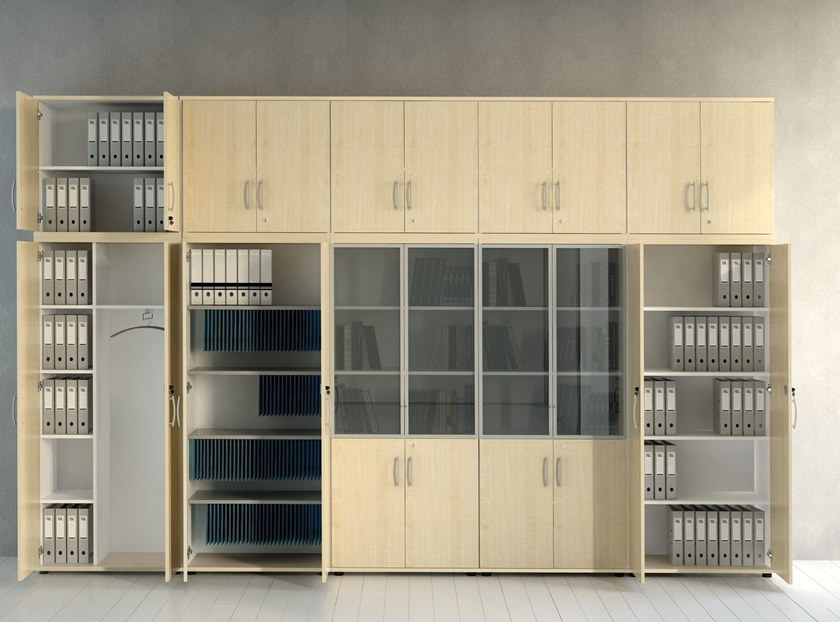 Office shelving with lock STANDARD | Office shelving - MDD