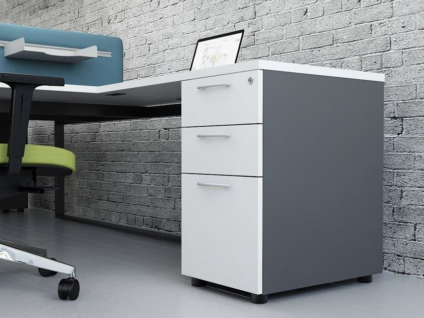 Filing cabinet with lock STANDARD | Filing cabinet - MDD