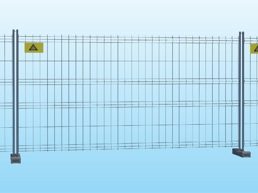 Construction site temporary and mobile fencing STANDARD by Ferro Bulloni