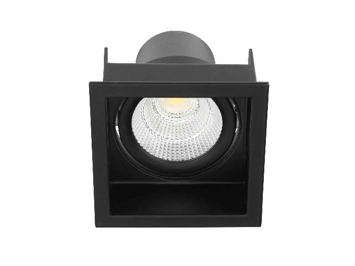 LED square recessed aluminium spotlight STAP - LED BCN Lighting Solutions