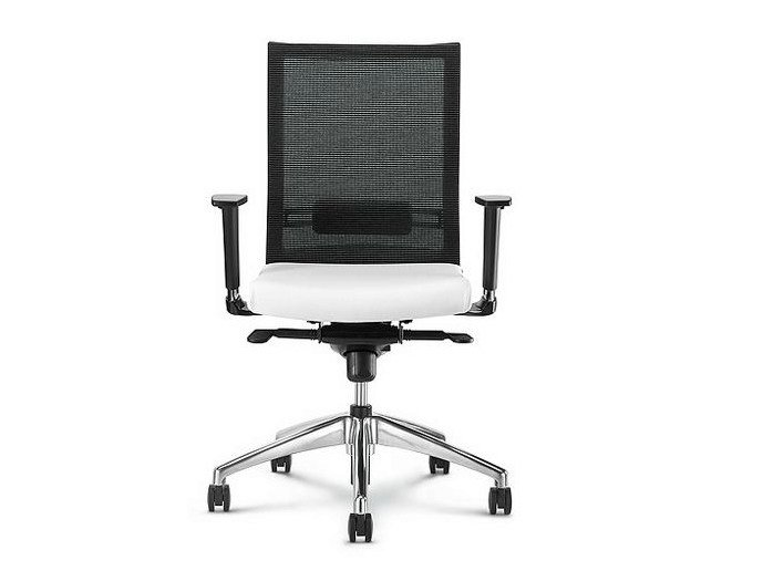 Task chair with 5-Spoke base with casters STAR | Task chair with 5-Spoke base - D.M.